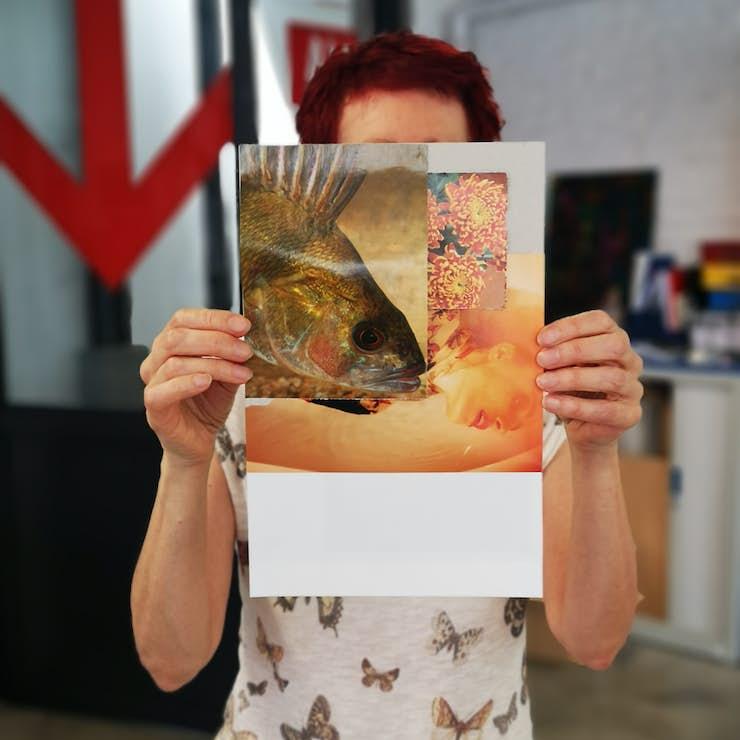 Laborat01re collage avec Thierry Tillier